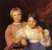 Ferdinand Georg Waldmuller Children oil painting