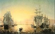 Fitz Hugh Lane Boston Harbor oil painting picture wholesale