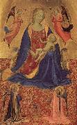 Fra Angelico Madonna and Child with Angles oil painting picture wholesale