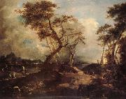 Francesco Guardi Landscape oil painting picture wholesale