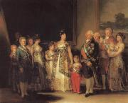 Francisco de goya y Lucientes The Family of Charles IV oil painting picture wholesale