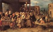 Francken, Frans II The Seven Acts of Charity oil painting artist