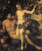 Frans Floris de Vriendt Adam and Eve oil painting artist