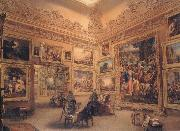 Frederick Mackenzie The National Gallery when at Mr J.J Angerstein's House,Pall Mall oil painting picture wholesale