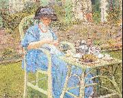 Frieseke, Frederick Carl Breakfast in the Garden oil painting picture wholesale