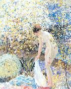 Frieseke, Frederick Carl Cherry Blossoms oil painting picture wholesale