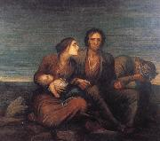 George Frederick watts,O.M.,R.A. The Irish Famine oil painting picture wholesale