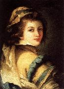 Giandomenico Tiepolo Portrait of a Page Boy oil painting artist