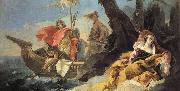Giovanni Battista Tiepolo Rinaldo Abandons Armida oil painting picture wholesale