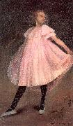 Glackens, William James Dancer in a Pink Dress oil painting picture wholesale
