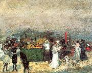 Glackens, William James Fruit Stand, Coney Island oil painting picture wholesale
