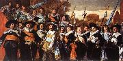 HALS, Frans Officers and Sergeants of the St George Civic Guard Company oil painting picture wholesale