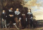 HALS, Frans Family Group in a Landscape oil painting picture wholesale