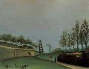 Henri Rousseau Fortification Porte de Vanves oil painting picture wholesale