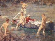 Henry Scott Tuke Ruby Gold and Malachite oil painting picture wholesale