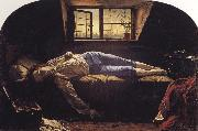 Henry Wallis Chatterton oil painting artist