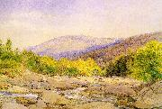 Hill, John William View on Catskill Creek oil painting picture wholesale