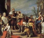 Jacopo Amigoni Joseph in Pharaob's Palace oil painting artist