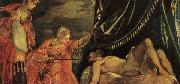 Jacopo Robusti Tintoretto Judith and Holofernes oil painting picture wholesale
