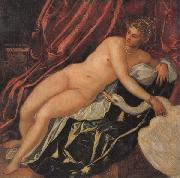 Jacopo Tintoretto Leda and the Swan oil painting artist