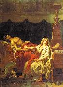 Jacques-Louis David Andromache Mourning Hector oil painting artist