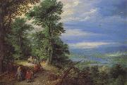 Jan Brueghel The Elder Forest's Edge oil painting artist