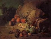 Jean Baptiste Oudry Still Life with Fruit oil painting artist