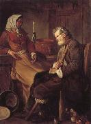Jean-Baptiste marie pierre Old Man in a Kitchen oil painting picture wholesale