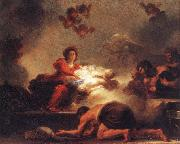 Jean-Honore Fragonard Adoration of the Shepherds oil painting picture wholesale