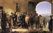 Jerry Barrett The Mission of Merey:Florence Nightingale Receiving the Wounded at Scutari oil