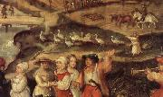 Joachim Beuckelaer Detail of A Village Celebration oil painting picture wholesale