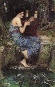 John William Waterhouse The Charmer oil painting picture wholesale