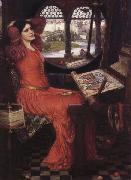 John William Waterhouse i am Half-Sick of Shadows said the Lady of Shalott oil painting picture wholesale