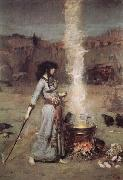 John William Waterhouse The Magic Circle oil painting picture wholesale