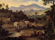 Joseph Anton Koch The Monastery of St.Francis in the Sabine Hills,Rome oil painting picture wholesale