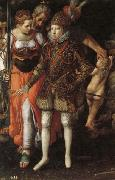 Justus Tiel Allegory of the Edcation of Philip III oil painting artist
