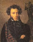 Kiprensky, Orest Portrait of the Poet Alexander Pushkin oil painting picture wholesale