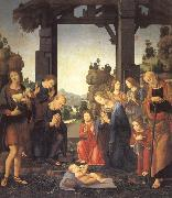 LORENZO DI CREDI The Adoration of the Shepherds oil painting picture wholesale