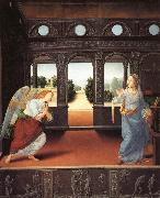 LORENZO DI CREDI The Annunciation oil painting picture wholesale
