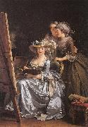 Labille-Guiard, Adelaide Self-Portrait with Two Pupils oil painting picture wholesale