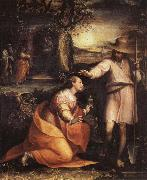Lavinia Fontana Noli Me Tangere oil painting reproduction