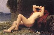 Lefebvre, Jules Joseph Mary Magdalen in the Grotto oil painting picture wholesale