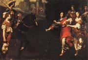 Lorenzo Lippi The Triumph of David oil painting picture wholesale