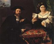 Lorenzo Lotto Husband and Wife oil painting picture wholesale