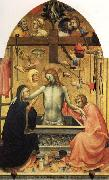 Lorenzo Monaco Pieta of Christ with Mourners and the Symbols of the Passion oil painting picture wholesale