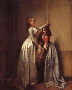 Louis-Leopold Boilly In the Entrance oil painting artist
