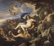 Luca Giordano he Triumph of Galatea,with Acis Transformed into a Spring oil painting artist