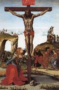 Luca Signorelli The Crucifixion with St.Mary Magdalen oil painting picture wholesale