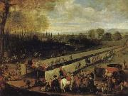 MAZO, Juan Bautista Martinez del The Hunting Party at Aranjuez oil painting picture wholesale