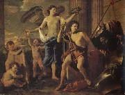 Nicolas Poussin David Victorious oil painting picture wholesale